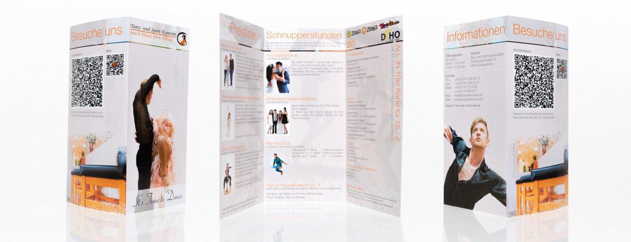 Tanz und Sportkantine Flyer